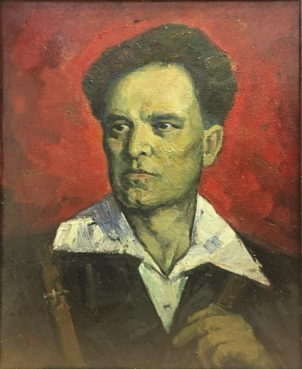 Aron Il'ich Ryvkin. Portrait of Buri F.P.