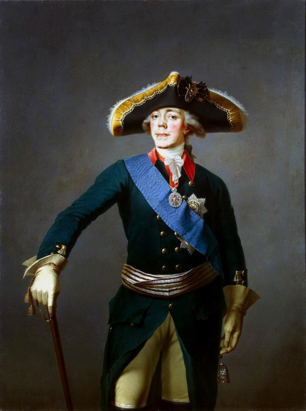 Степан Семенович Щукин. Портрет Павла I