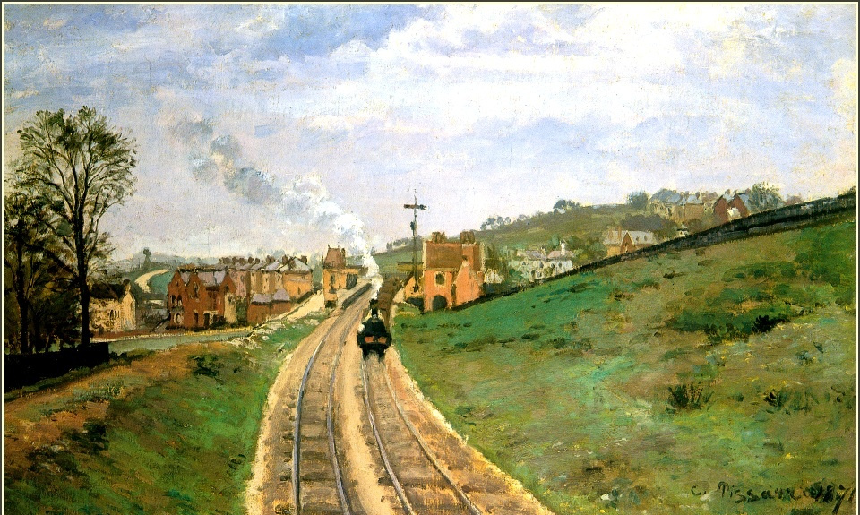 Camille Pissarro. Lordship lane station, Dulwich