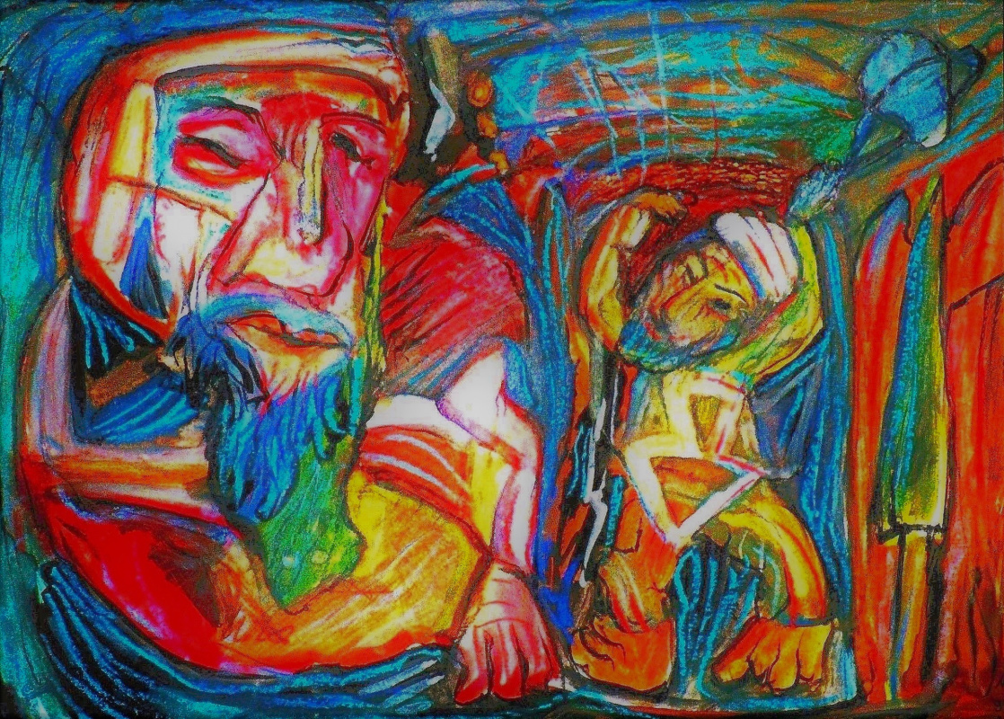 Garri Yuhvetz. Давид и Голиат