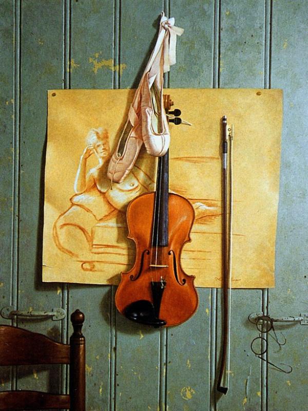 Берри Койпера. Натюрморт со скрипкой