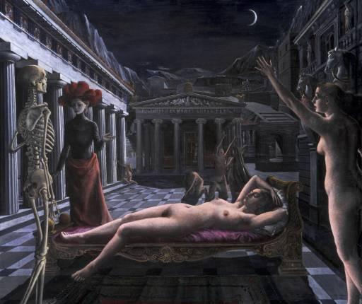 Поль Дельво. Спящая Венера