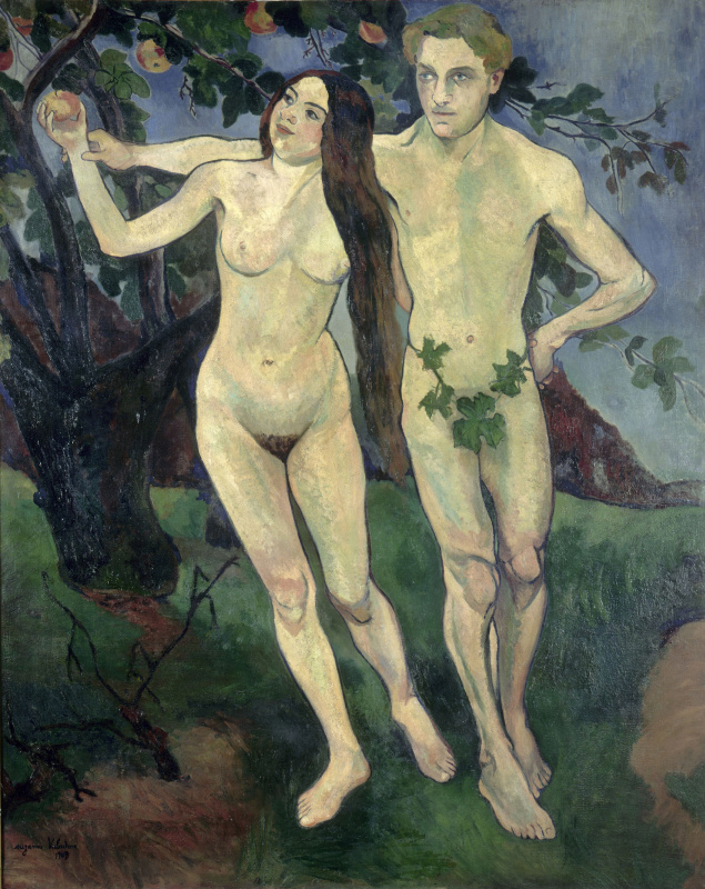 Suzanne Valadon. Adam and Eve