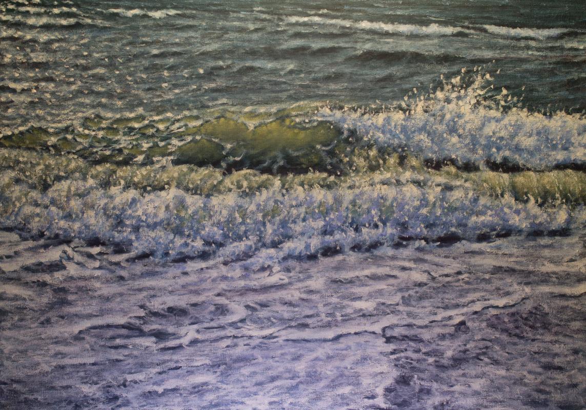 Valery Levchenko. № 571 Sea landscape.