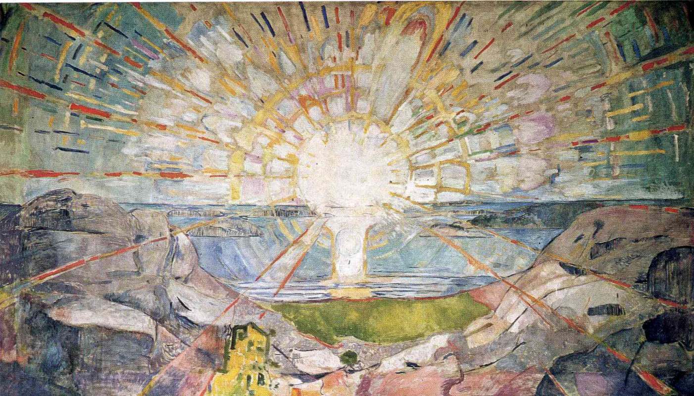 Edward Munch. The sun