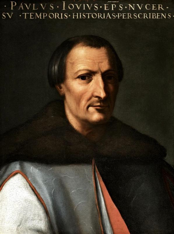 Кристофано дель Альтиссимо. Портрет Паоло Джовио