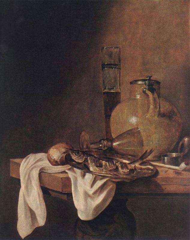 Абрахам Хендрикс ван Бейерен. Завтрак