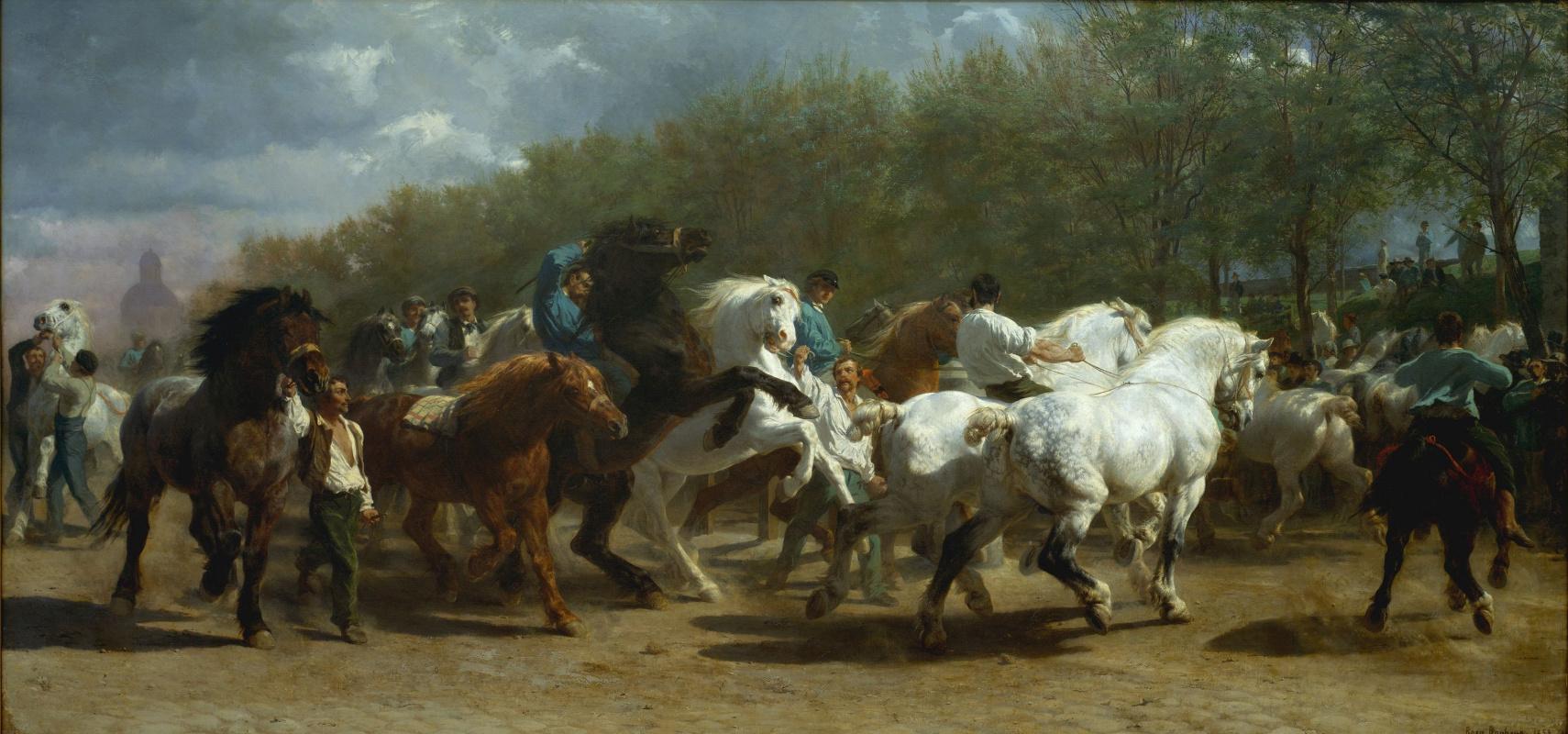 Rose Bonhur. Horse fair