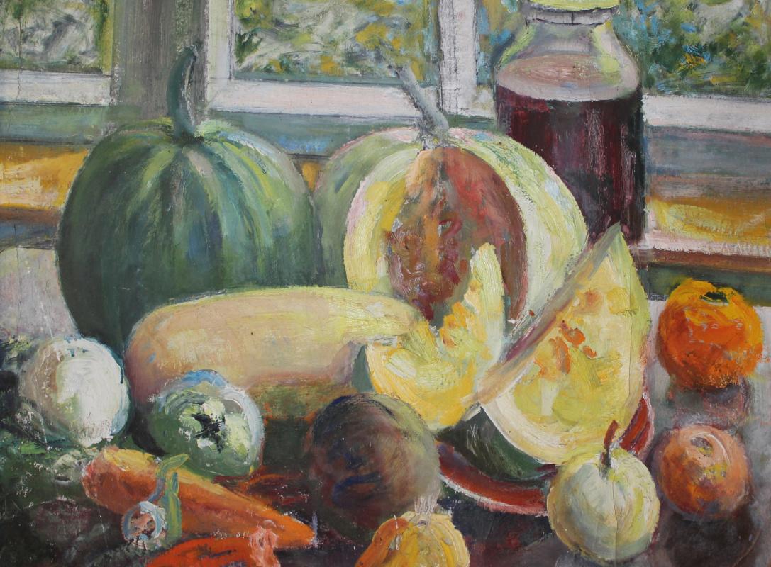 Vasily Fadeevich Demin. Vegetables