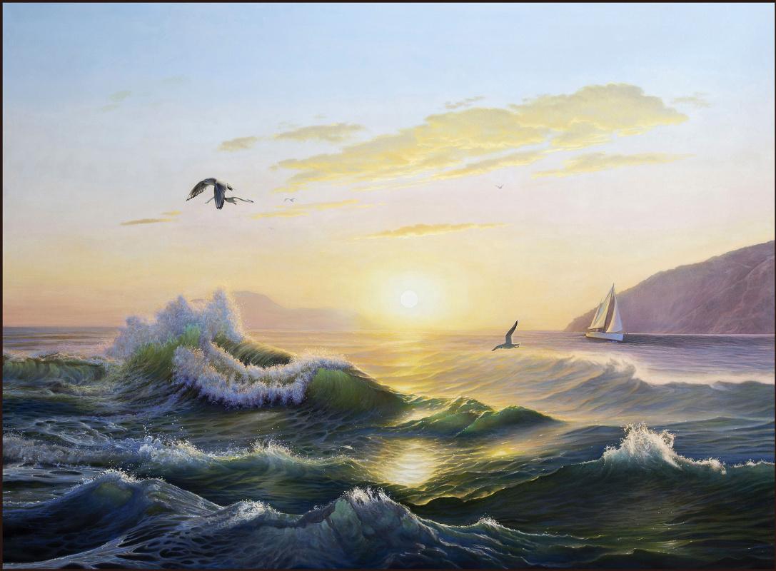 Sushienok64 @ mail.ru Mikhailovich Sushenok Igor. Sunrise over the sea