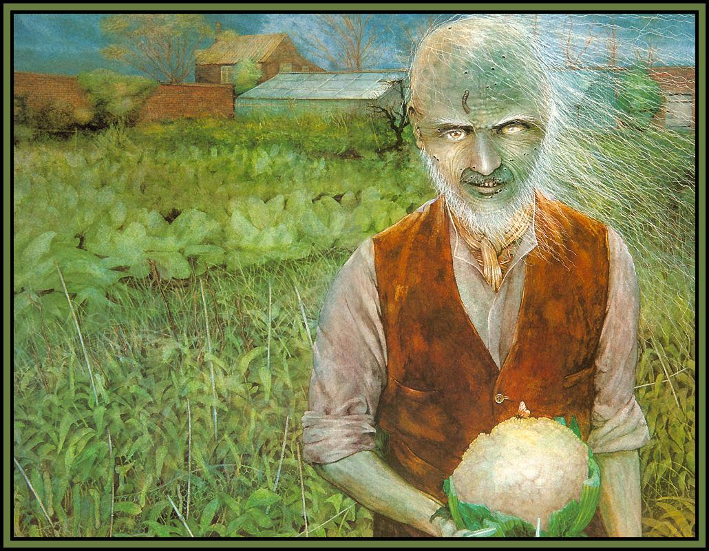 Jonathan Field. The gardener