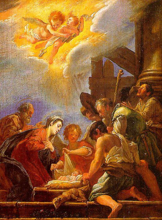 Доменико Фетти. Рождество