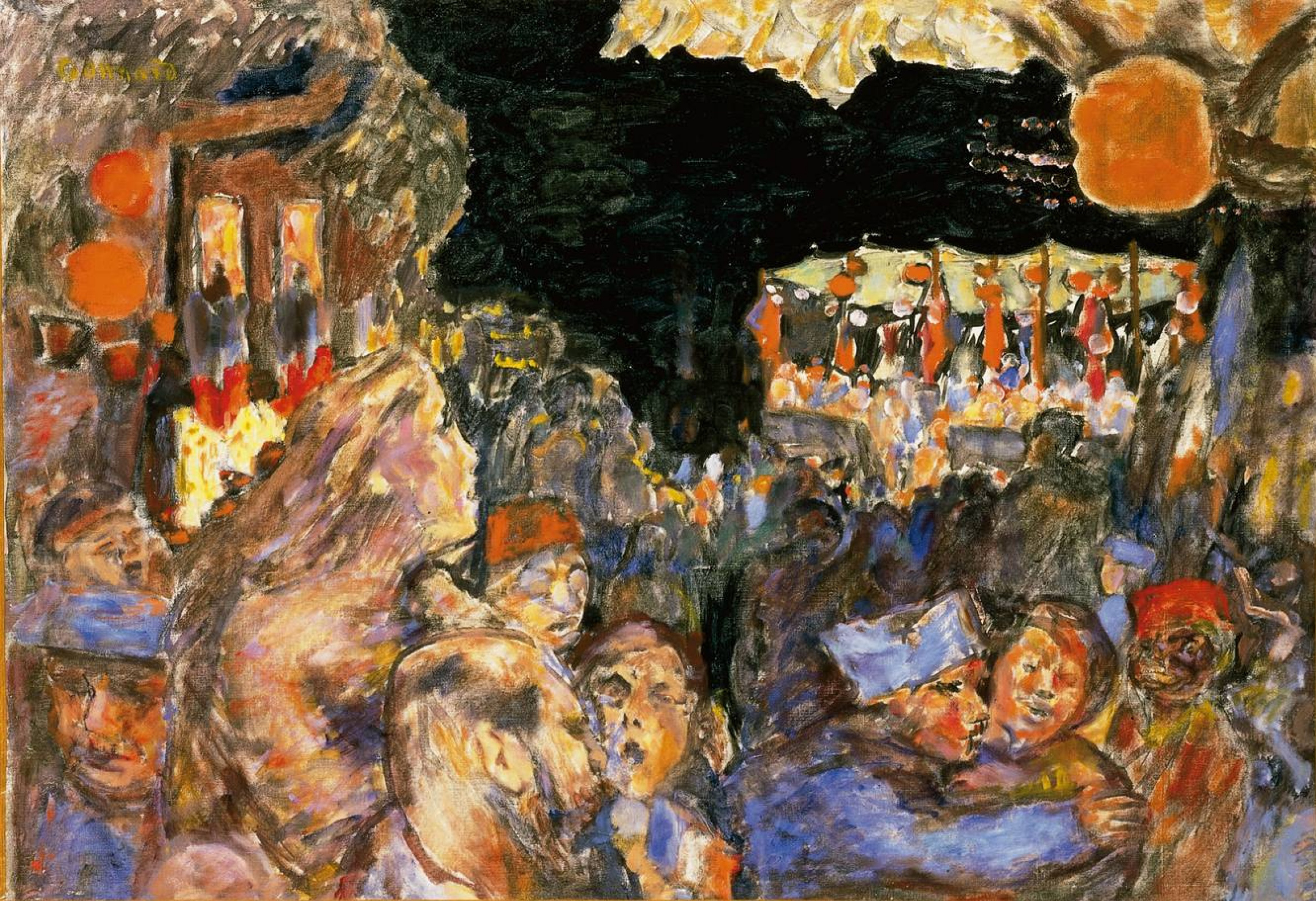 Pierre Bonnard. The Fourteenth of July 1918 (Armistice)