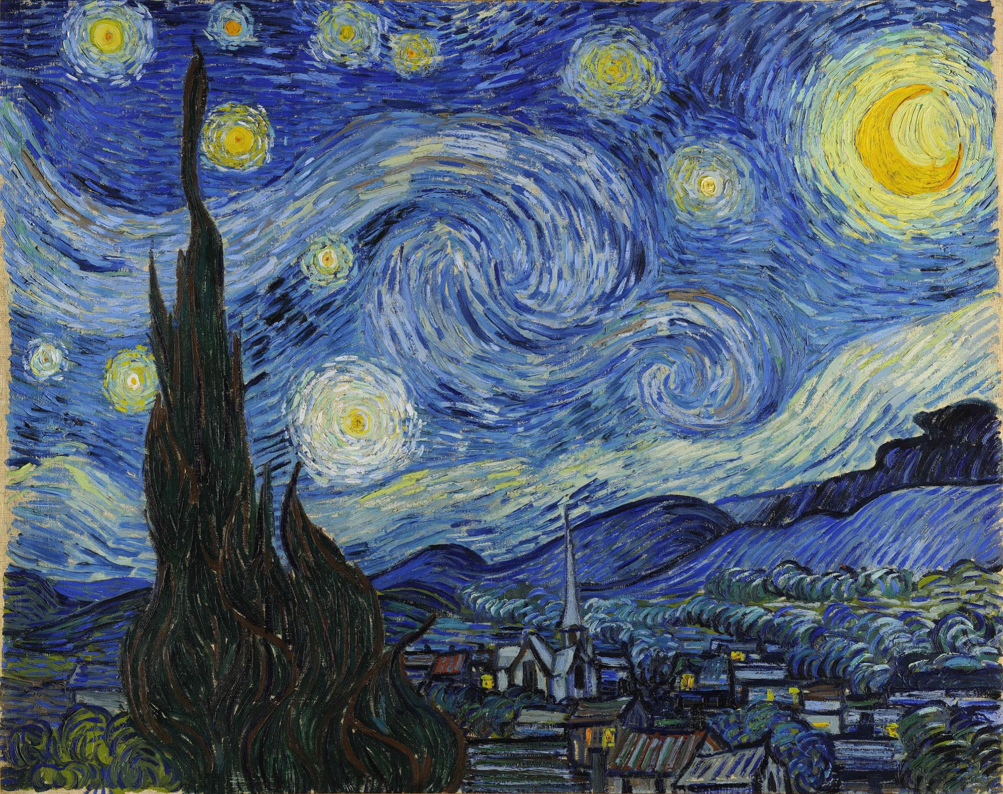 Винсент Ван Гог. Звездная ночь