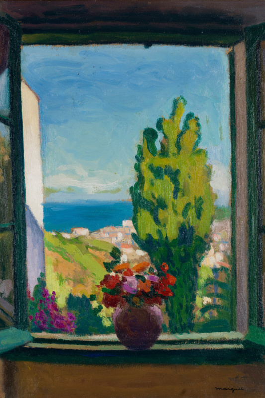 Albert Marquet. The window in Algeria