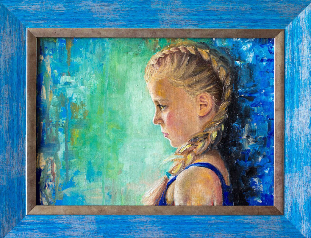 Anastasia Alekhine. Portrait of a girl