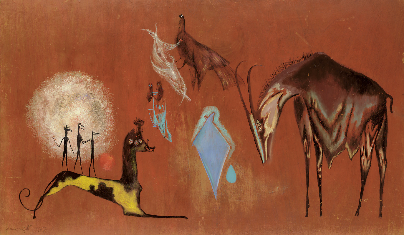 Leonora Carrington. Brothers