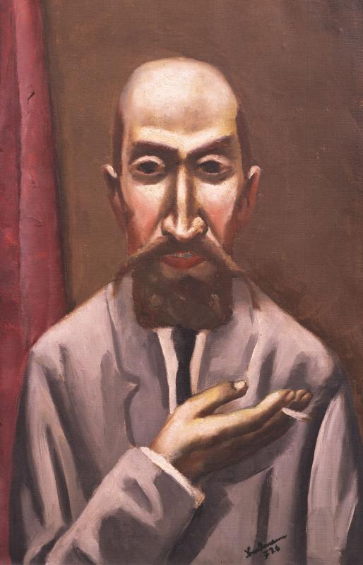 Макс Бекман. Портрет турка