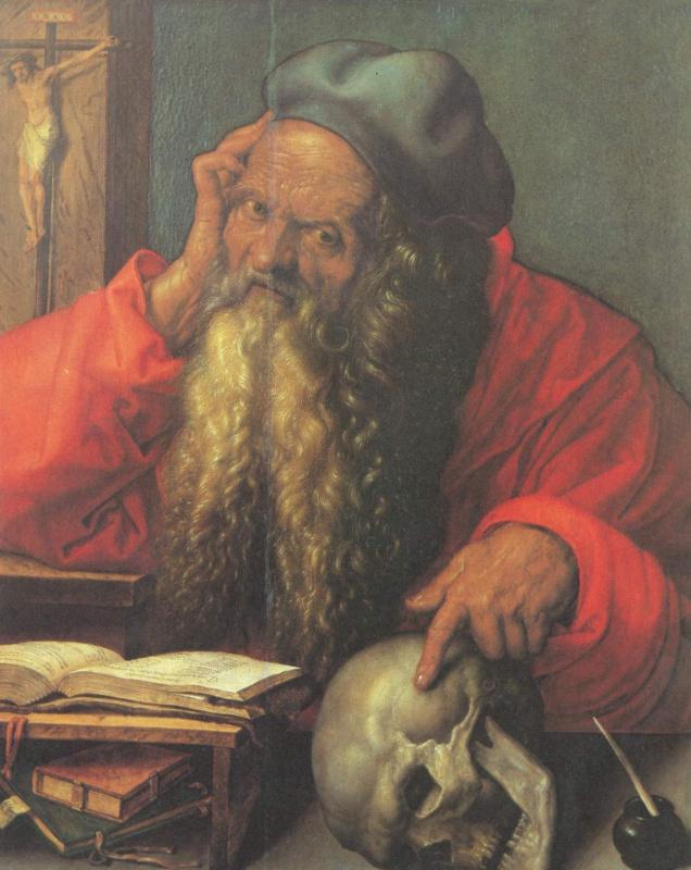 Albrecht Durer. Saint Jerome