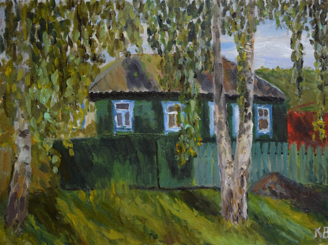 Ksenia Vitalievna Frolova. House in the village