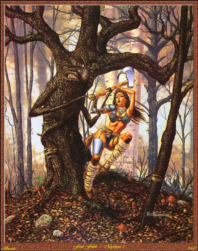 Фред Филдс. Борьба с деревом