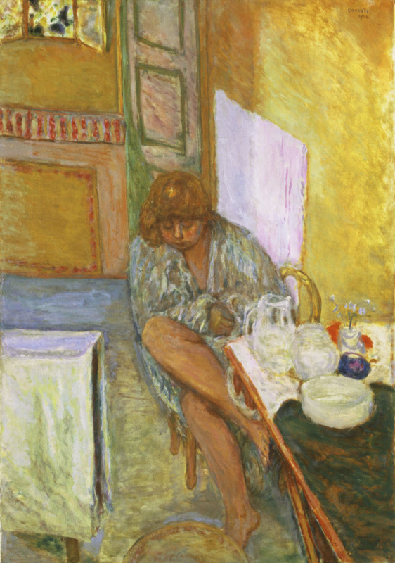 Pierre Bonnard. After a bath