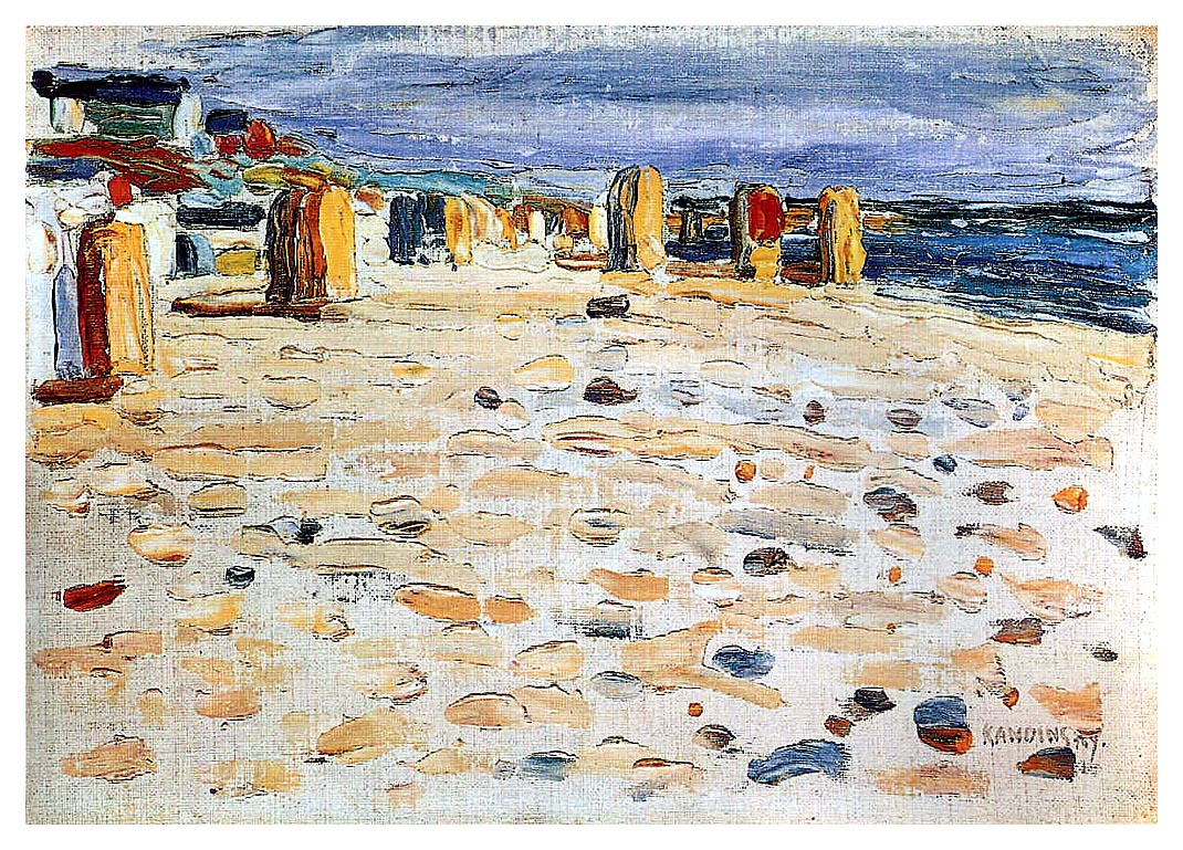 beach chairs in the netherlands by wassily kandinsky history analysis facts. Black Bedroom Furniture Sets. Home Design Ideas