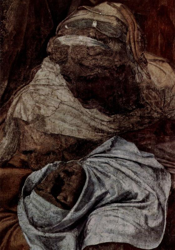 Даниэле да Вольтерра. Снятие с креста, деталь