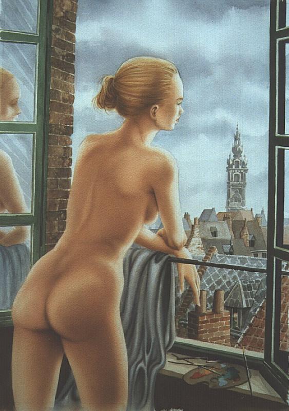 Ив Плато. Распахнутое окно