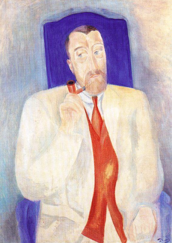 Andre Derain. Portrait of a man