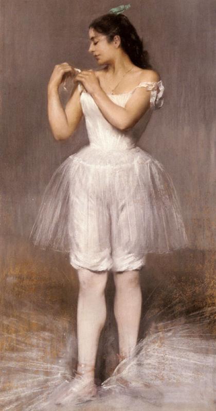Пьер Карриер-Беллеус. Балерина