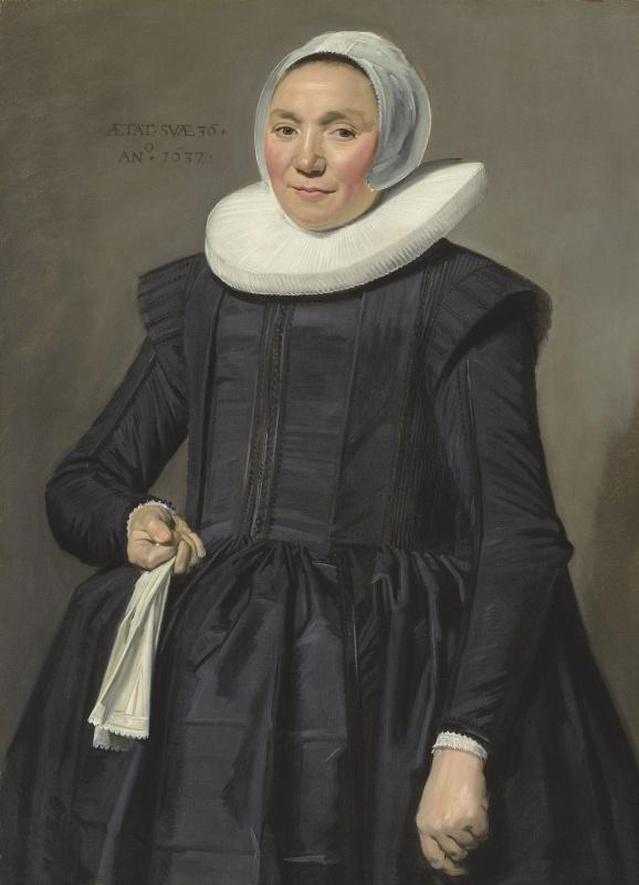 Франс Хальс. Портрет дамы в возрасте 36 лет