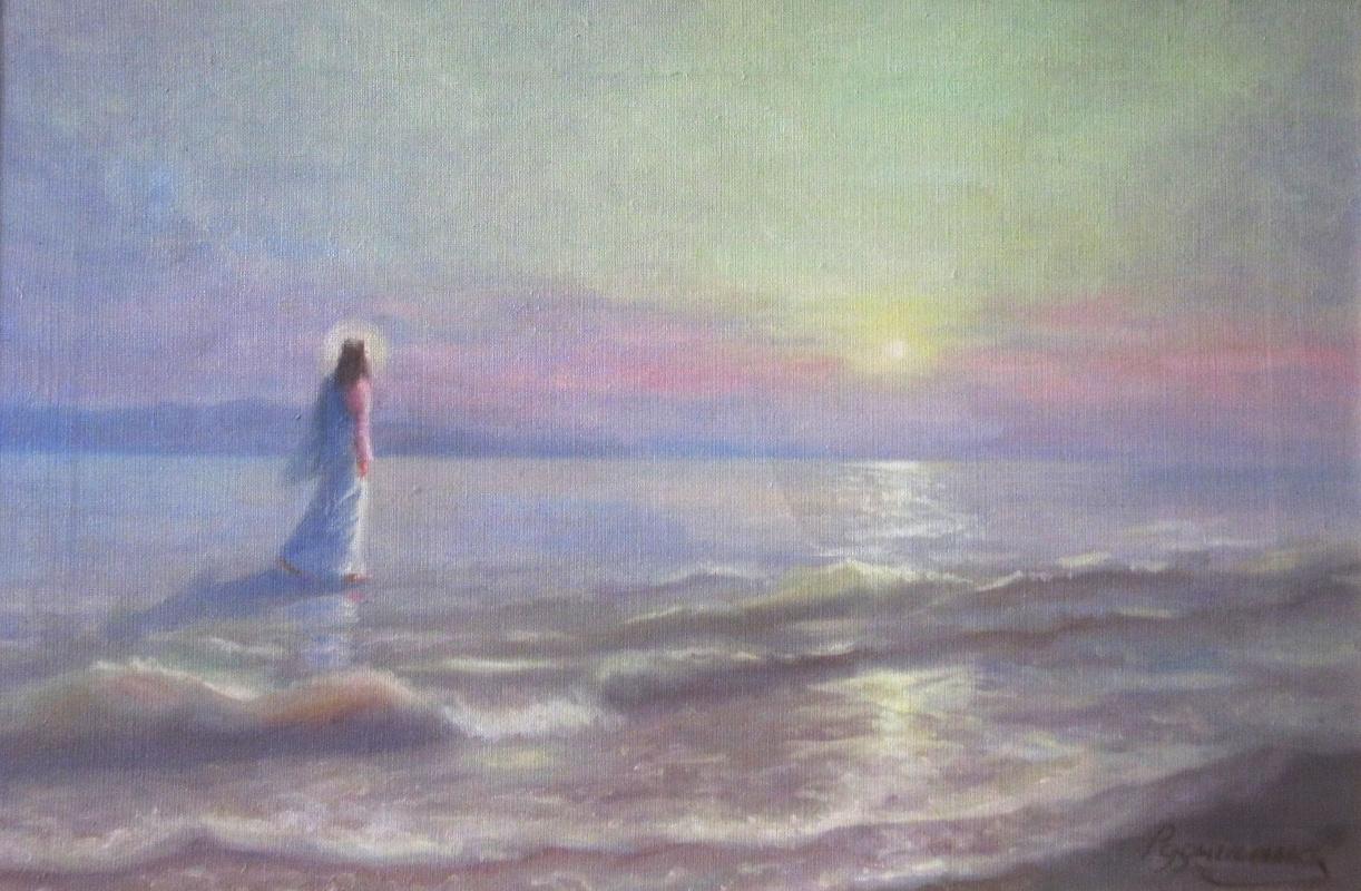 Zhanna Alexandrovna Rudnitskaya. The Savior walked on water