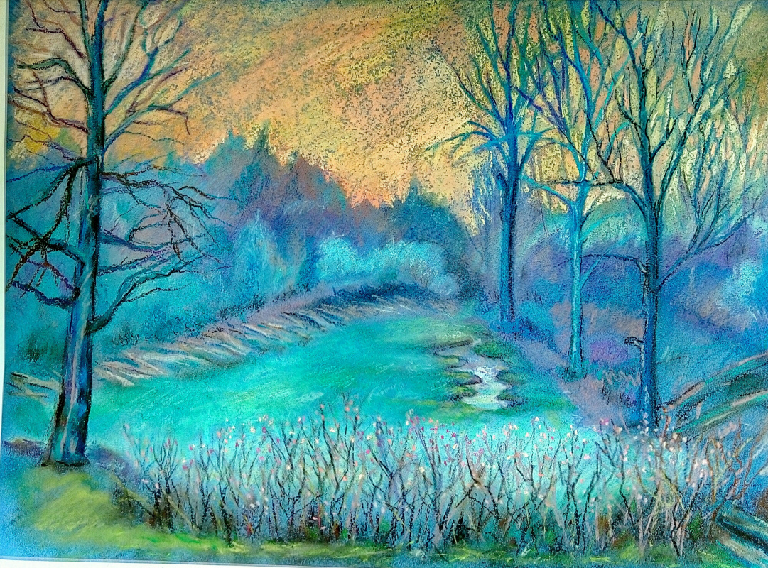 Elchin L.. Blue forest to heaven ...