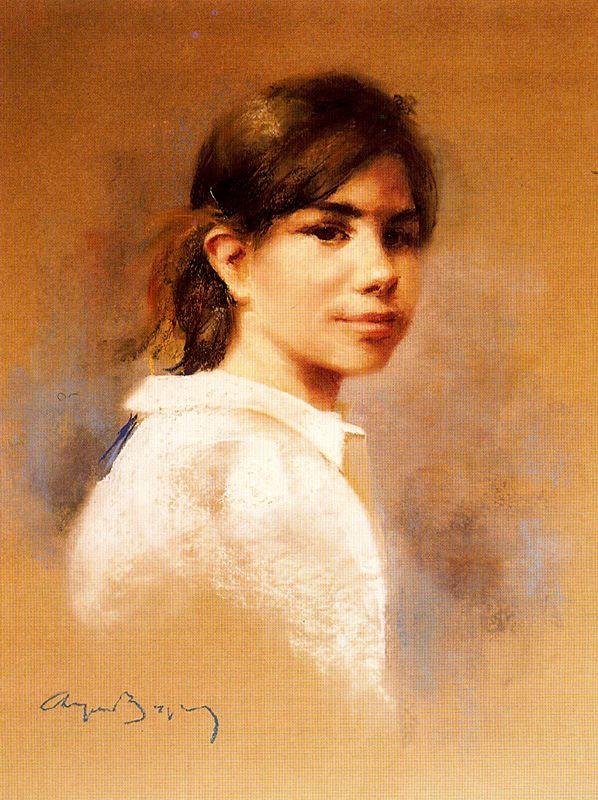 Cayetano de Archer Buigas. Portrait of a girl
