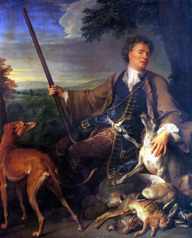 Александр Франсуа Депорт. Автопортрет в охотничьем костюме