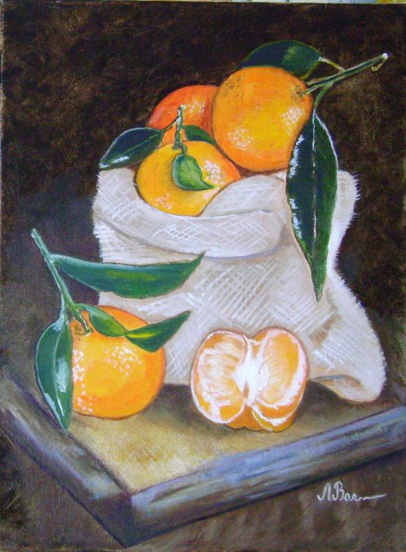 Lyubov Viktorovna Volobaeva. Oranges