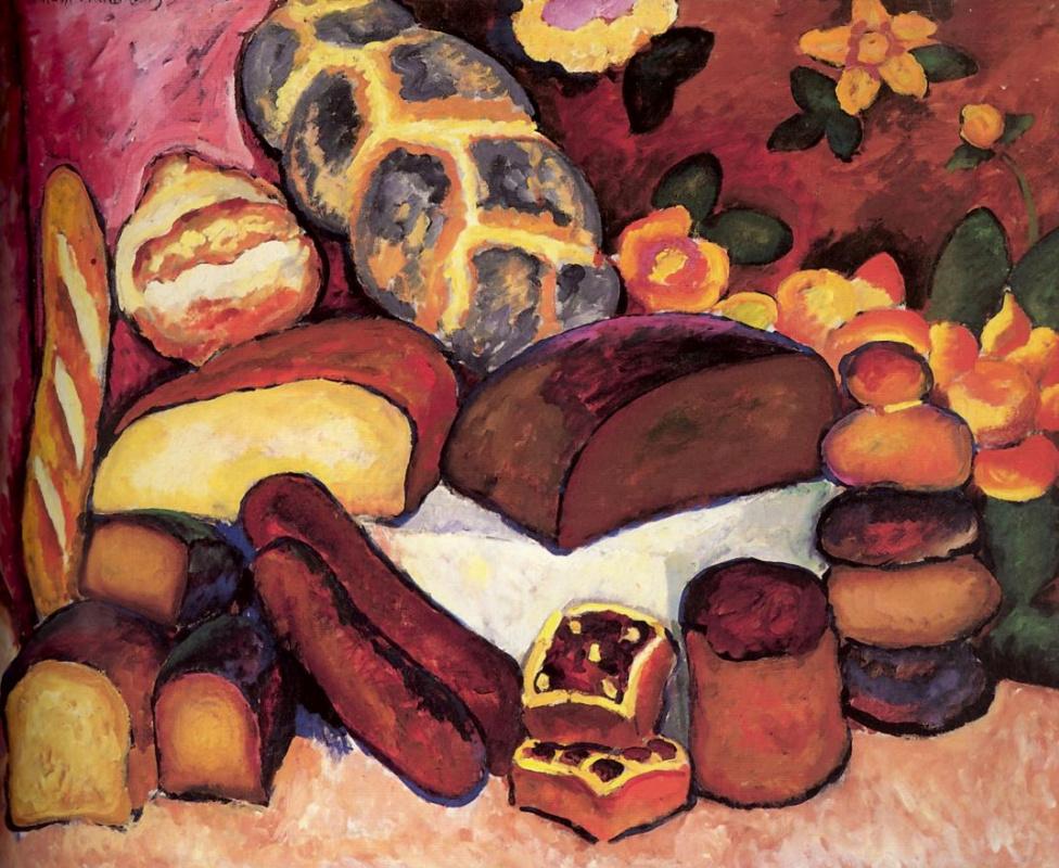 Илья Иванович Машков. Хлебы