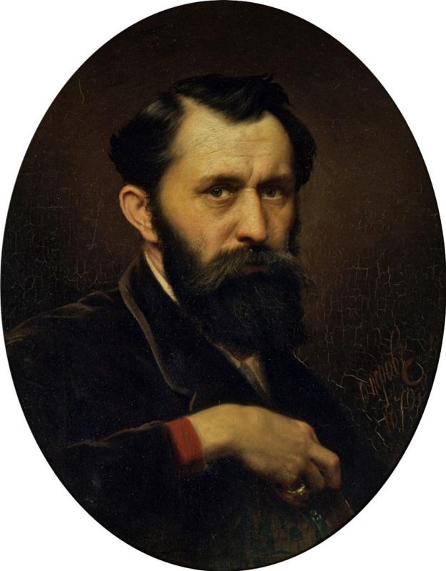 Vasily Grigorievich Perov. Self-portrait