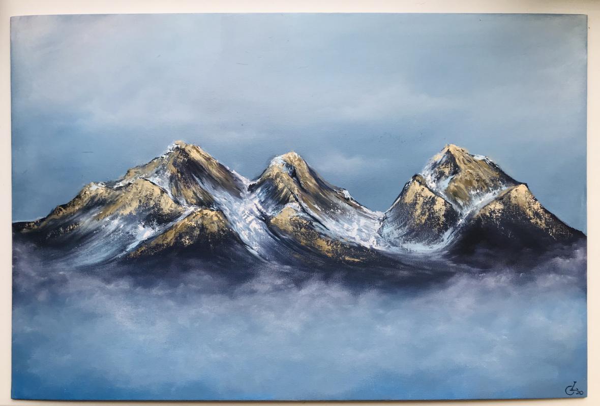 Olga Lakomaya. Mountain range