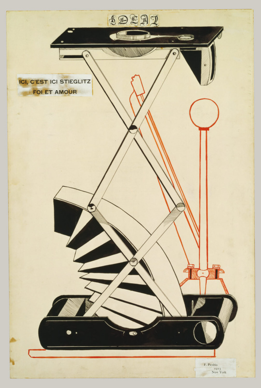 Francis Picabia. Here is Stiglitz