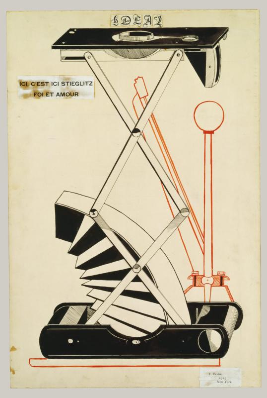 Francis Picabia. Here is Stiglitz