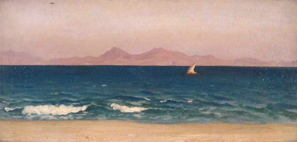 Frederic Leighton. Coast of Asia Minor