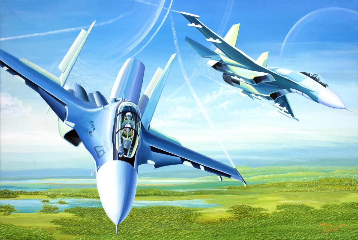 Sergey Popov. Dream of flying