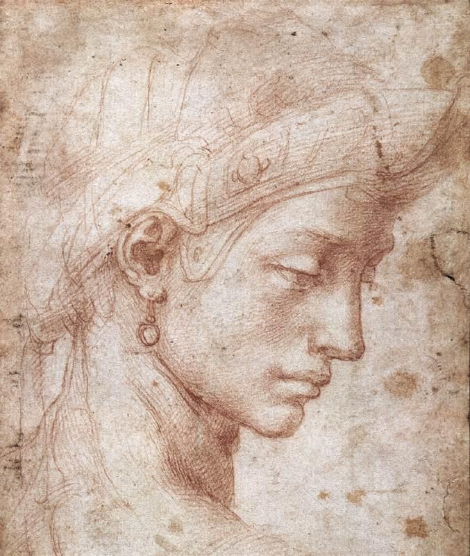 Микеланджело Буонарроти. Идеальное лицо