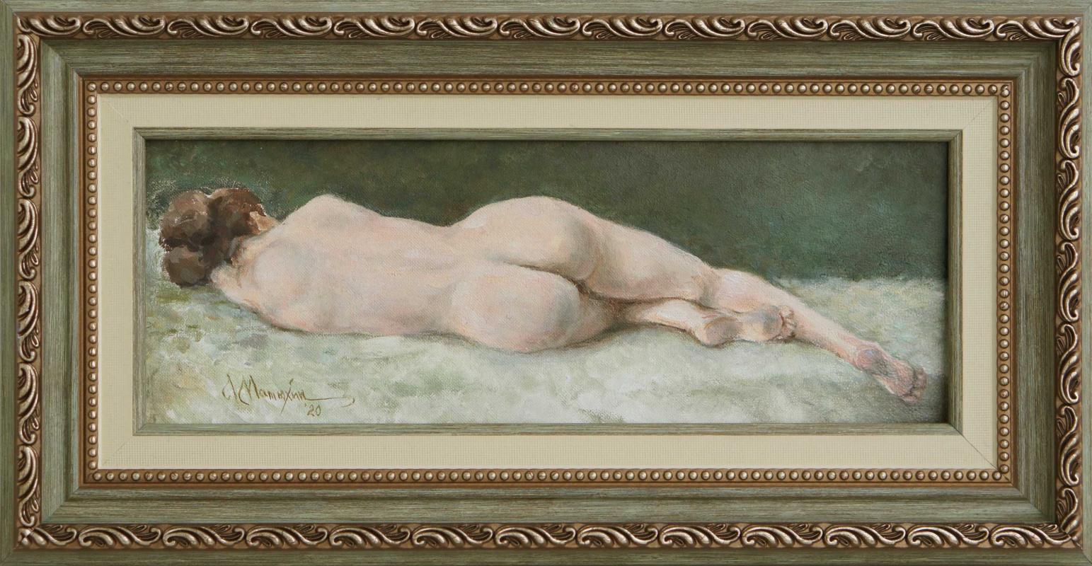 Alexander Matyukhin. 2020. sketch nude_3 (11x29 cm)