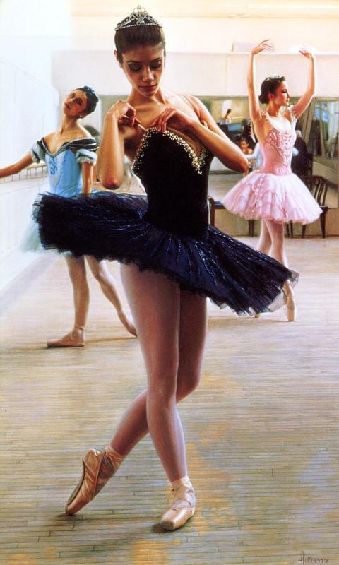 Дуглас Хофманн. Балерина стоит