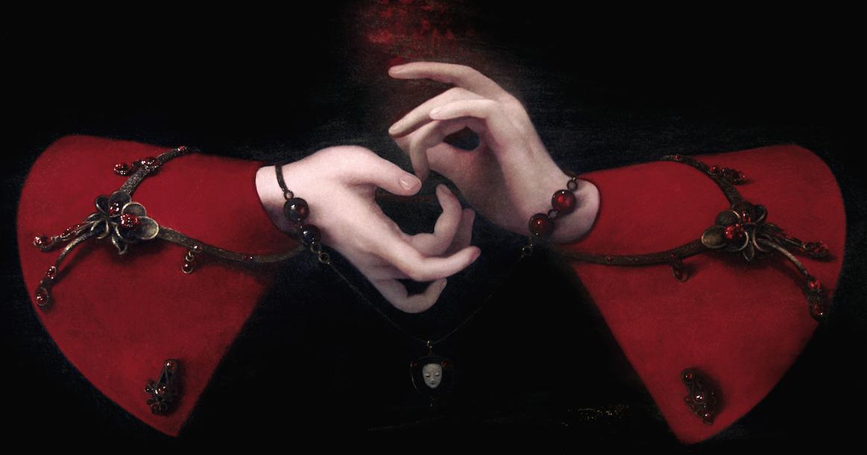 Ольга Акаси. Interlacing of the Fingers
