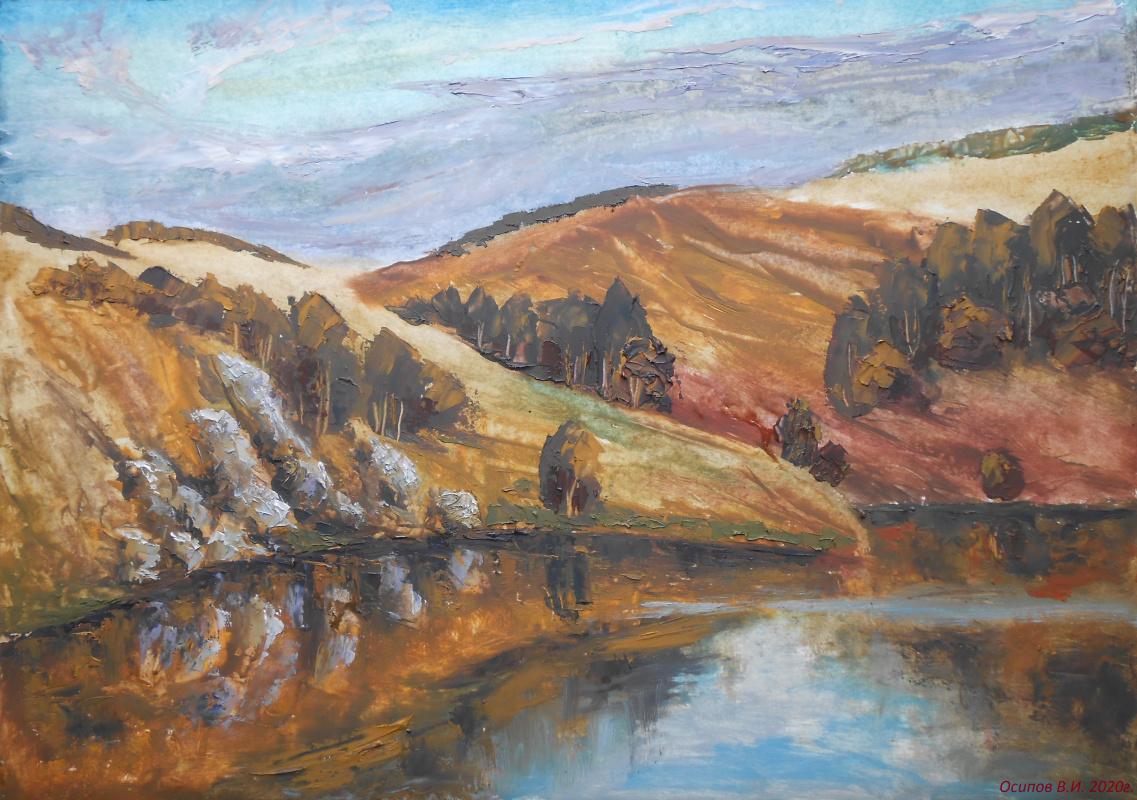 Владимир Иванович Осипов. The hills