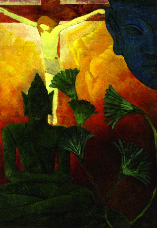 Поль Рансон. Христос и Будда